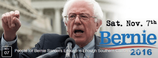Bernie Sanders SD poster