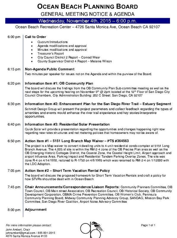 OBPB Agenda 11-4-15