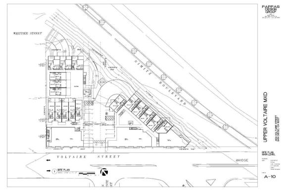 PL Upper Voltaire siteplan