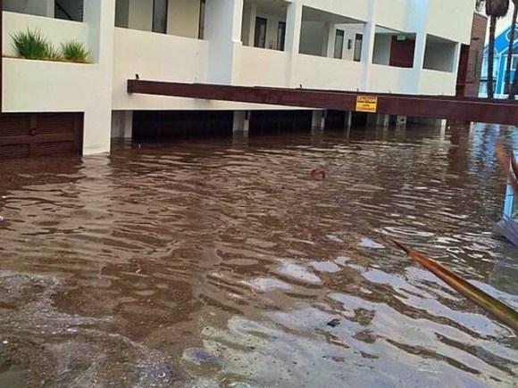 OB flooded 1-5-16 Condos Jimgrant