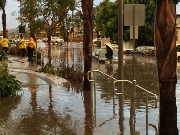 OB flooded 1-5-16 Pt Loma