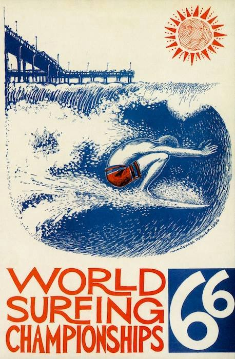 OB World Surf Champ 1966 poster