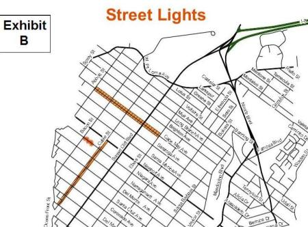 OBTC street lights map