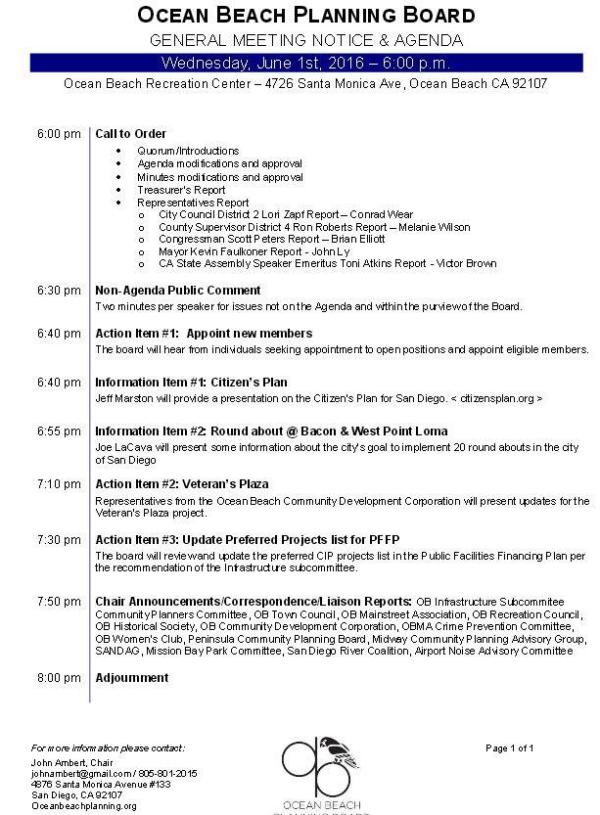 OBPB Agenda 6-1-16