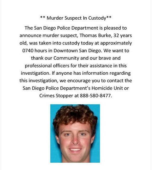 OB murder suspect T burke