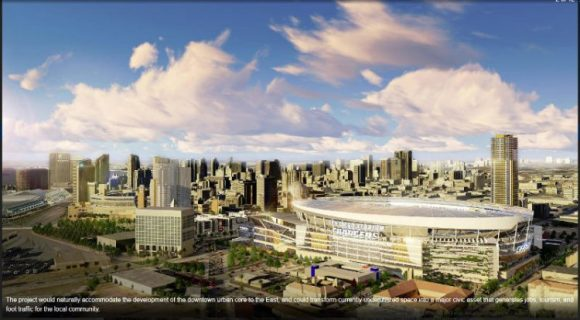 Stadium downtown chargers design