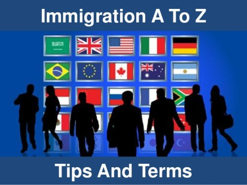 Immigration A to Z image