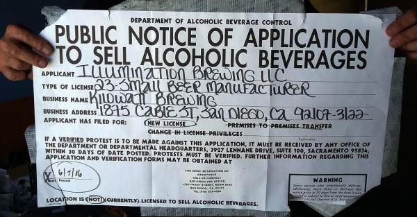 OB killowatt sign