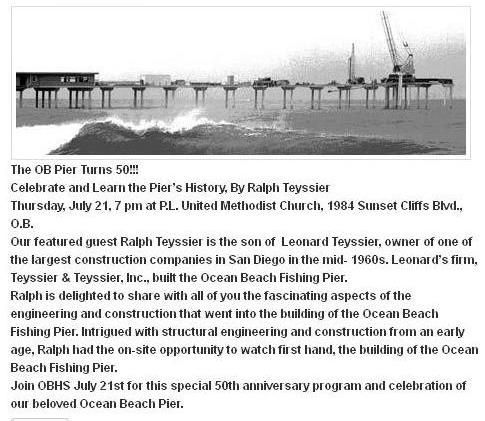 OBHS Pier 50th