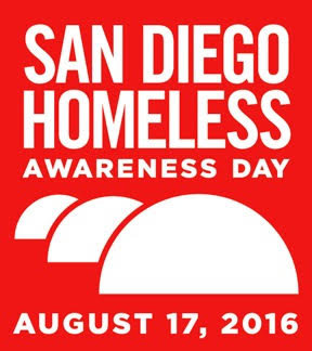 San Diego homeless awareday 81716