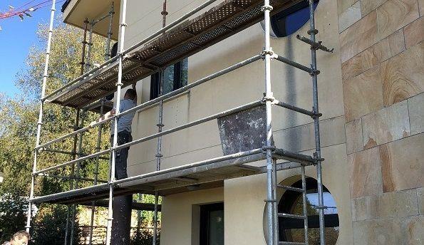 Rehabilitación y Restauración de fachadas y tejados en Irún