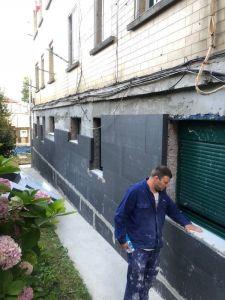 rehabilitación energética de la envolvente del edificio con sistema SATE