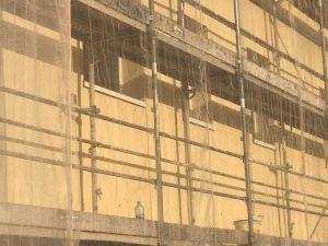 revestimiento acrílico de las fachadas