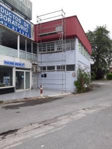 Cubierta industrial Rekalde Donostia(mantenimiento)