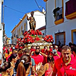 """San Bartolomé visita """"Betsaida"""", Casa de Misericordia, de Beas"""
