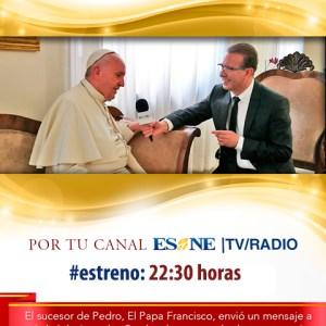 El Sembrador Europa TV emite entrevista exclusiva con el Papa Francisco