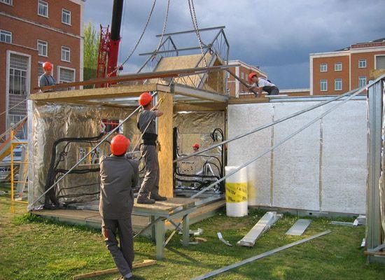 Aislamiento reformas de viviendas en madrid - Madera aislante termico ...