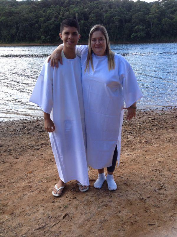 Confraternização e Batismo