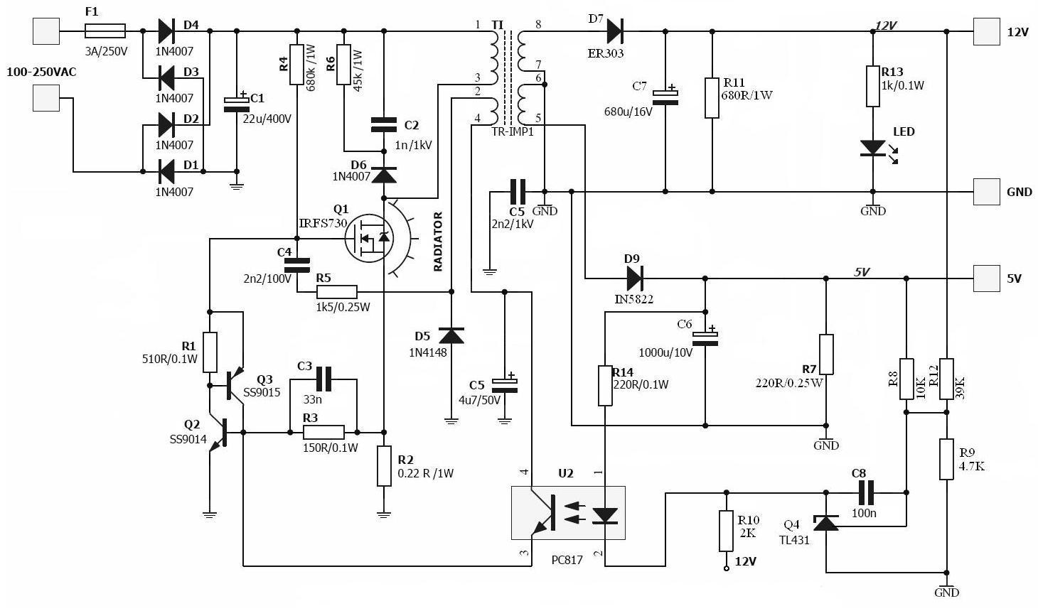Zasilacz model: YH-3018-5 adapter SATA/ATA poszedł