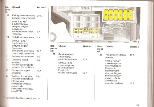 small resolution of opel corsa b fuse box opel combo wiring diagram odicis fuse box diagram opel vauxhall