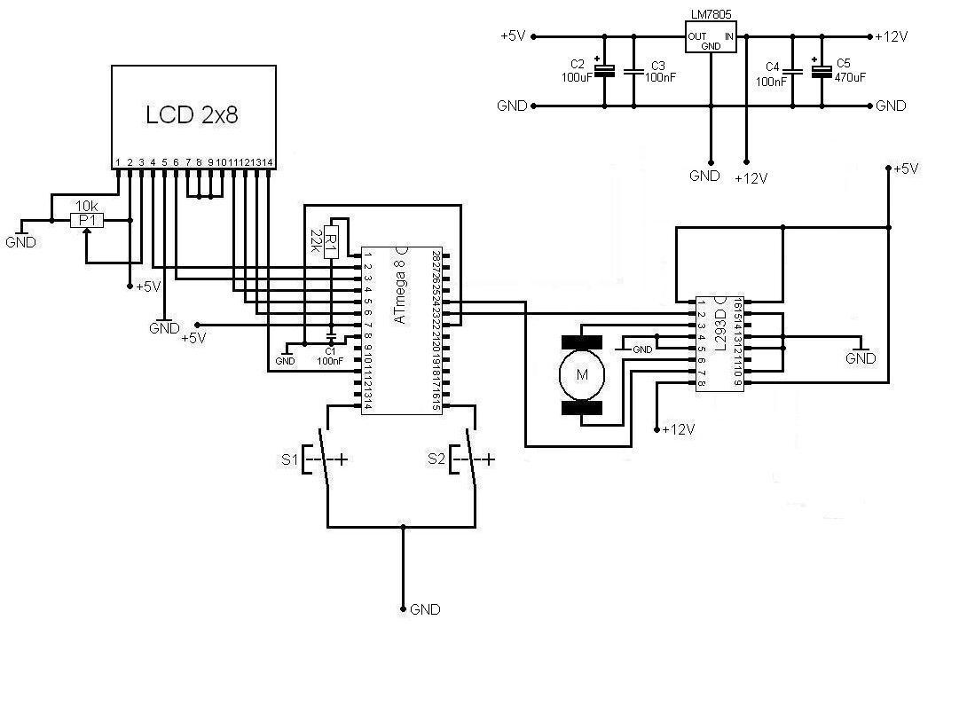 l293d motor driver circuit diagram 66 mustang dash wiring НБУ