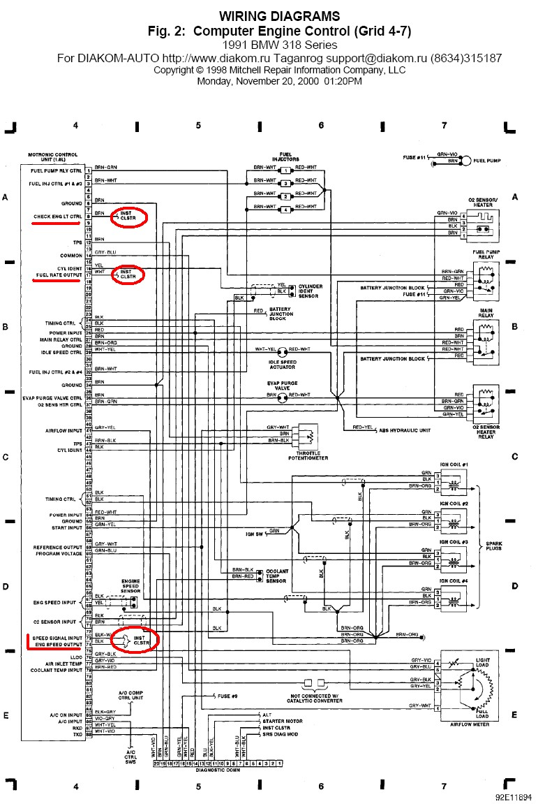 Bmw E30 Obc Wiring Diagram Auto Electrical Model Trane Furnace Tud140c960k0 Related With