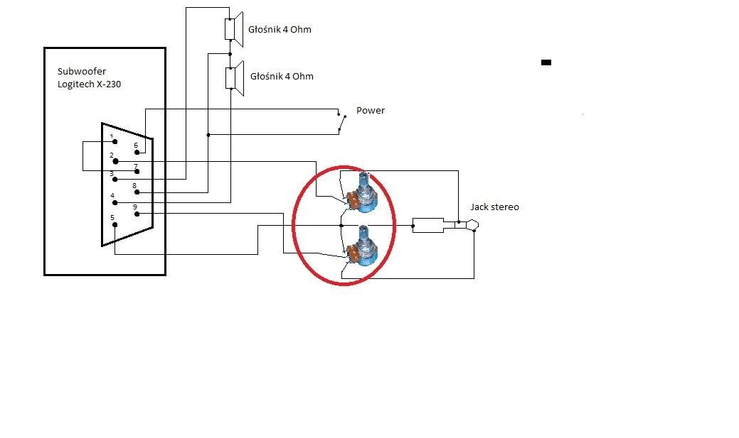 Logitech Z 2300 Circuit Diagram