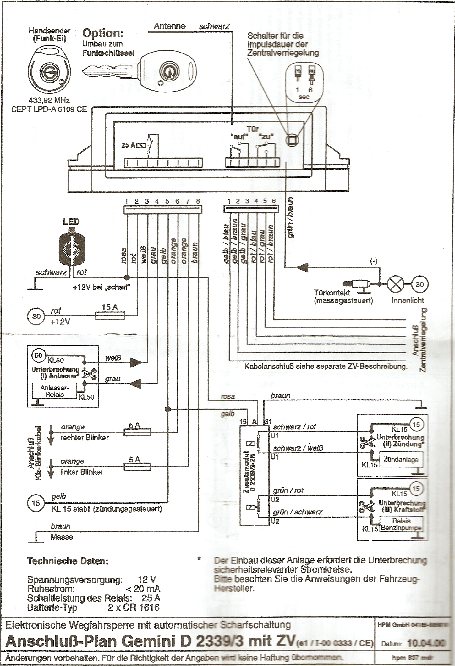 Viper Security System Wiring Diagram, Viper, Free Engine