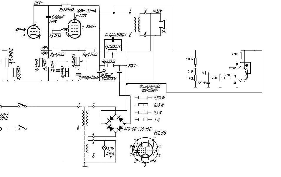 Home made tube amplifier SE EL34