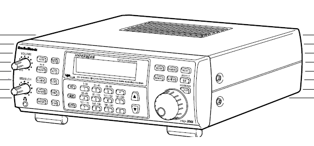 Radio Shack Pro-2045 VHF Scanner-Recieverr Manual EN