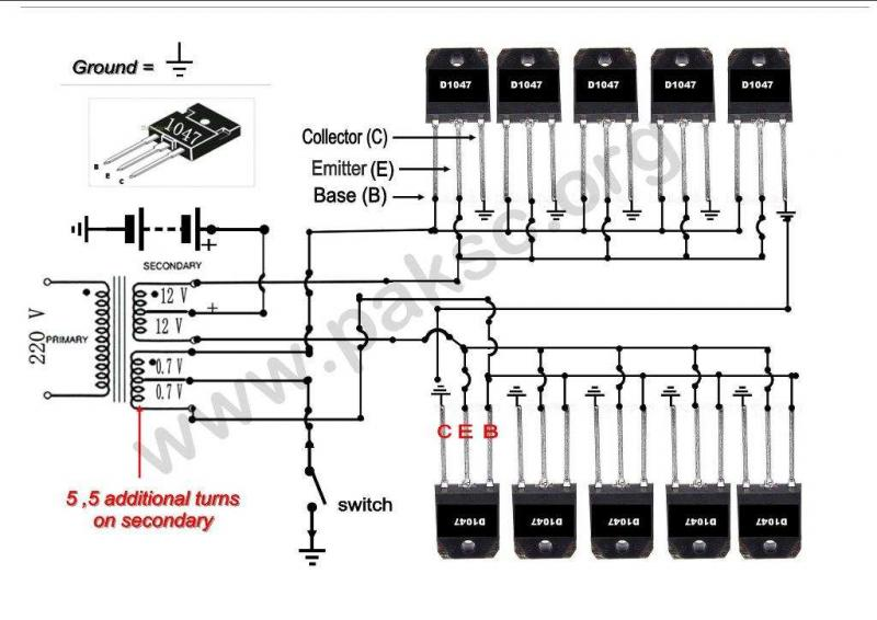 500w Solar Inverter Grid Tie Wiring Diagram Budowa Prostej Przetwornicy On Grid Elektroda Pl
