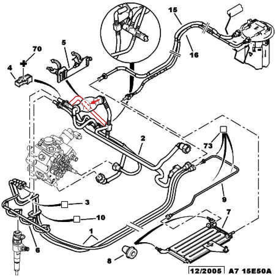 Schemat przewód paliwo