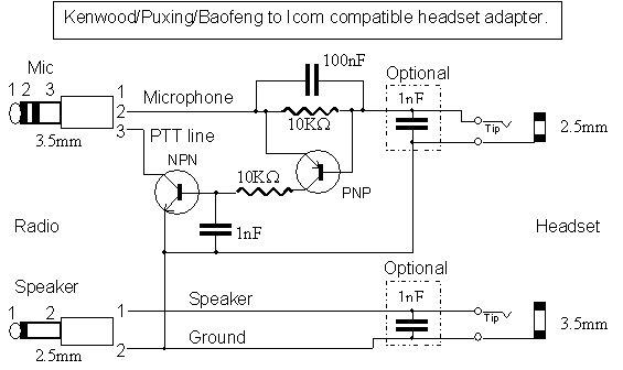 kenwood radio mic wiring diagram