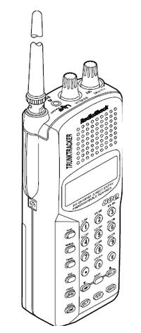 Radio Shack PRO 90 VHF UHF Scanner Reciever Manual