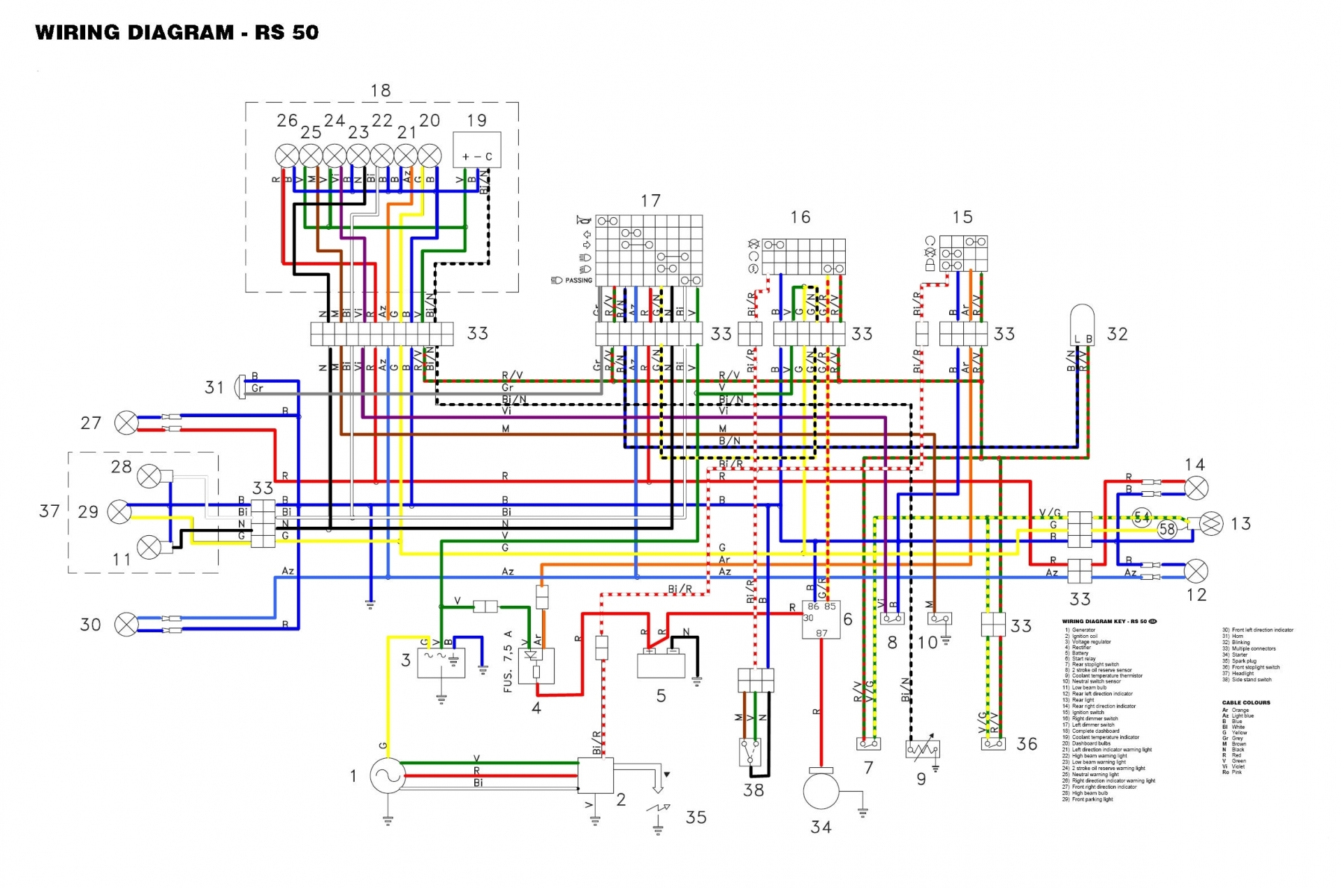 Honda Xr50 Wiring Diagram Schematic Diagrams Xr50r Xr200 Xr250r 110cc