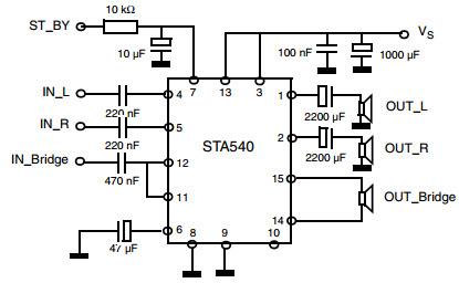 Głośniki logitech x 540 5.1 działają tylko środkowy i