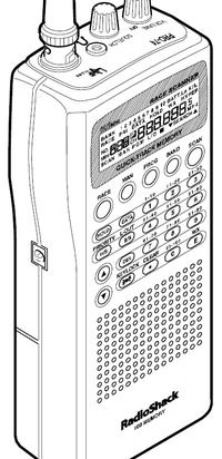 Radio Shack PRO-74 VHF-UHF Scanner-Reciever Manual EN
