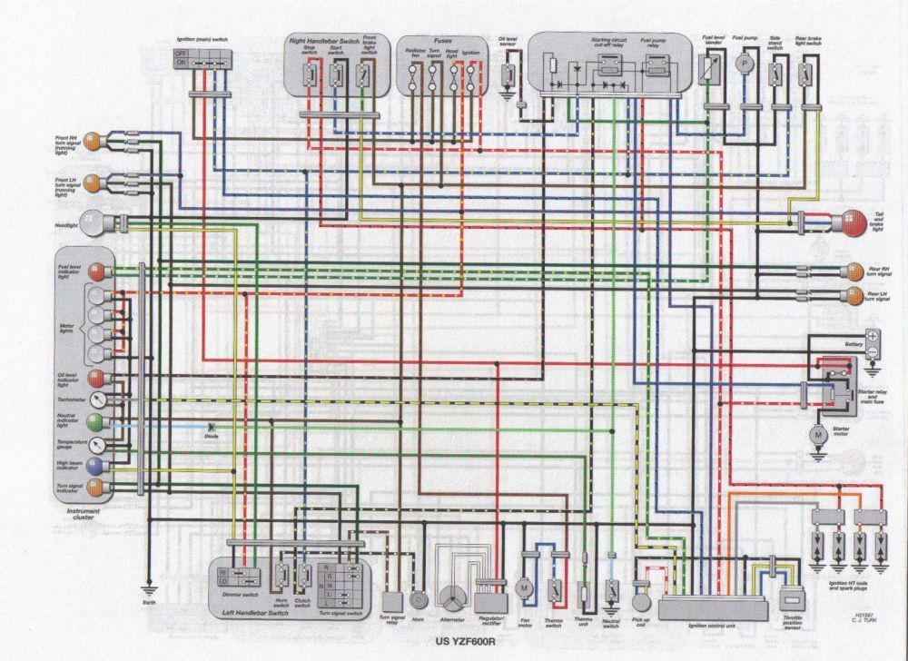 medium resolution of dorable 2006 gsxr 750 wiring diagram component electrical system