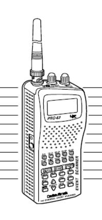 Radio Shack PRO-63 VHF-UHF Scanner-Reciever Manual EN