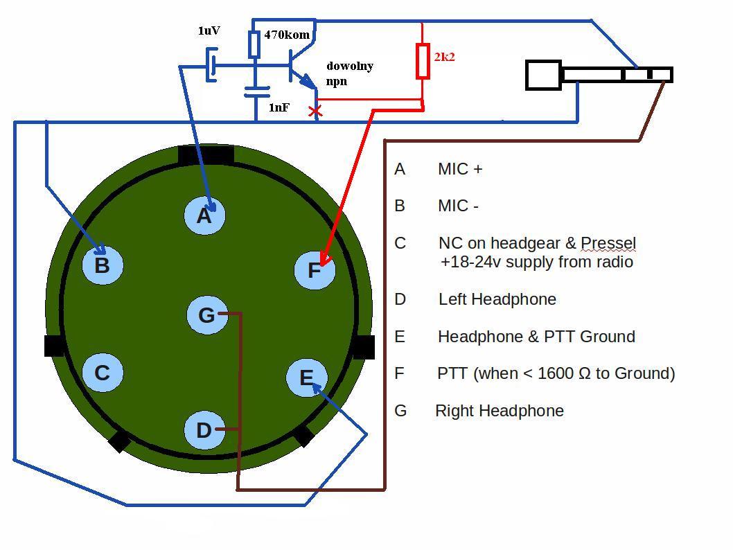 Motorola Headset Wiring Diagram As Well Ptt Headset Wiring Diagrams