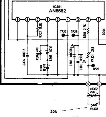 Gramofon Technics 1210mk2 i mk5, potencjometry
