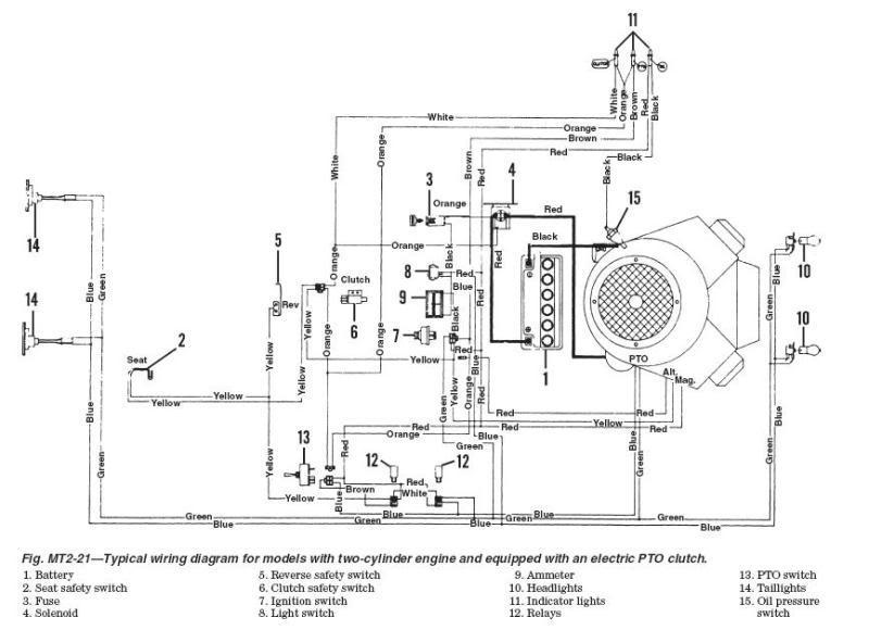 kubota starter solenoid wiring diagram car radio pioneer mtd traktorek jn 200 at - brak ładowania elektroda.pl
