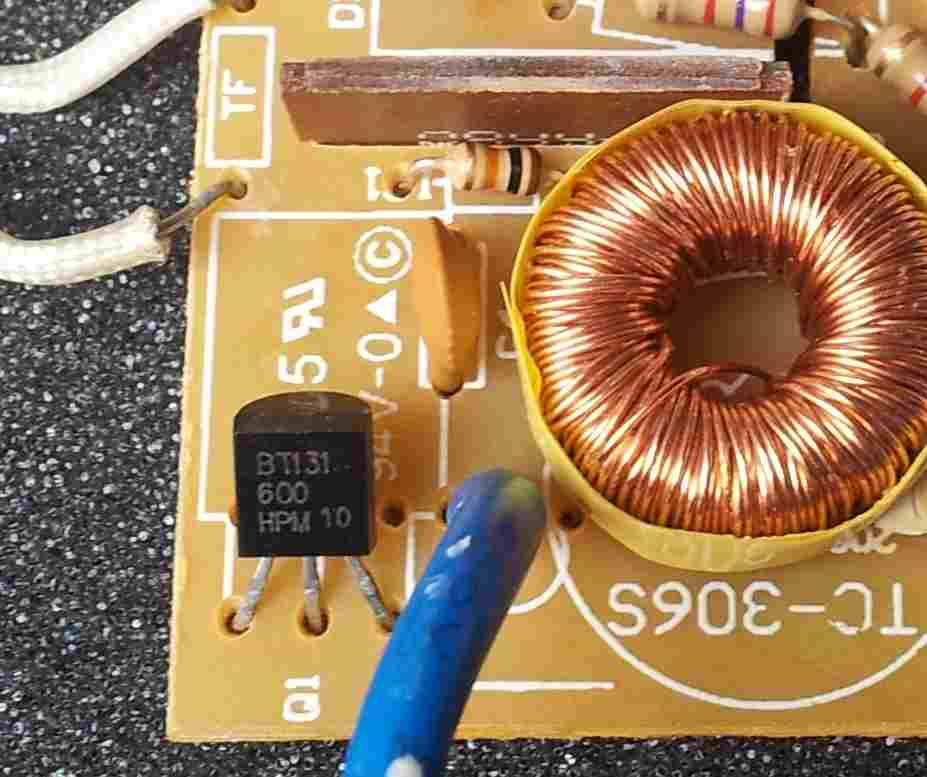 An Schematic From A Light Wiring Diagram Tc 306s Włącznik ściemniacz Dotykowy Uszkodzenie