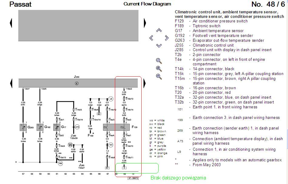 Passat B5 1.8t 99r szukam schematu instalacji el