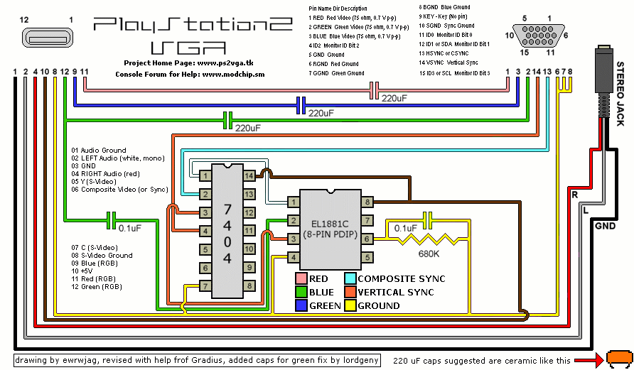 hdmi to vga wiring diagram pinout diagrams for relay lighting rgb zu