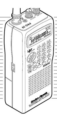 Radio Shack PRO-29 VHF-UHF Scanner-Reciever Manual EN