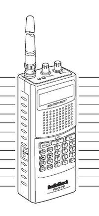 Radio Shack PRO 79 VHF UHF Scanner Reciever Manual
