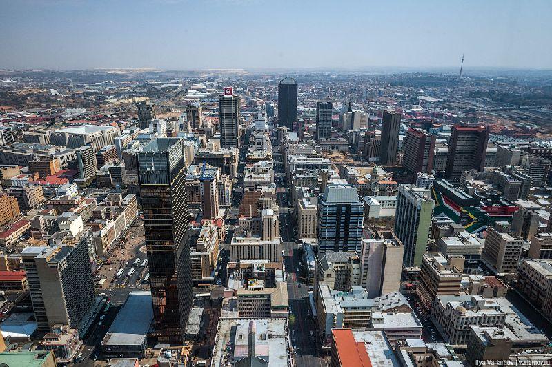 Где находится ЮАР? — страна на карте мира