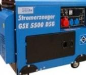 Der Guede GSE 5000 DSG ist ein leistungsstarker Dieselgenerator.