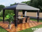 Luxus Rattan Pavillon von Swing & Harmonie